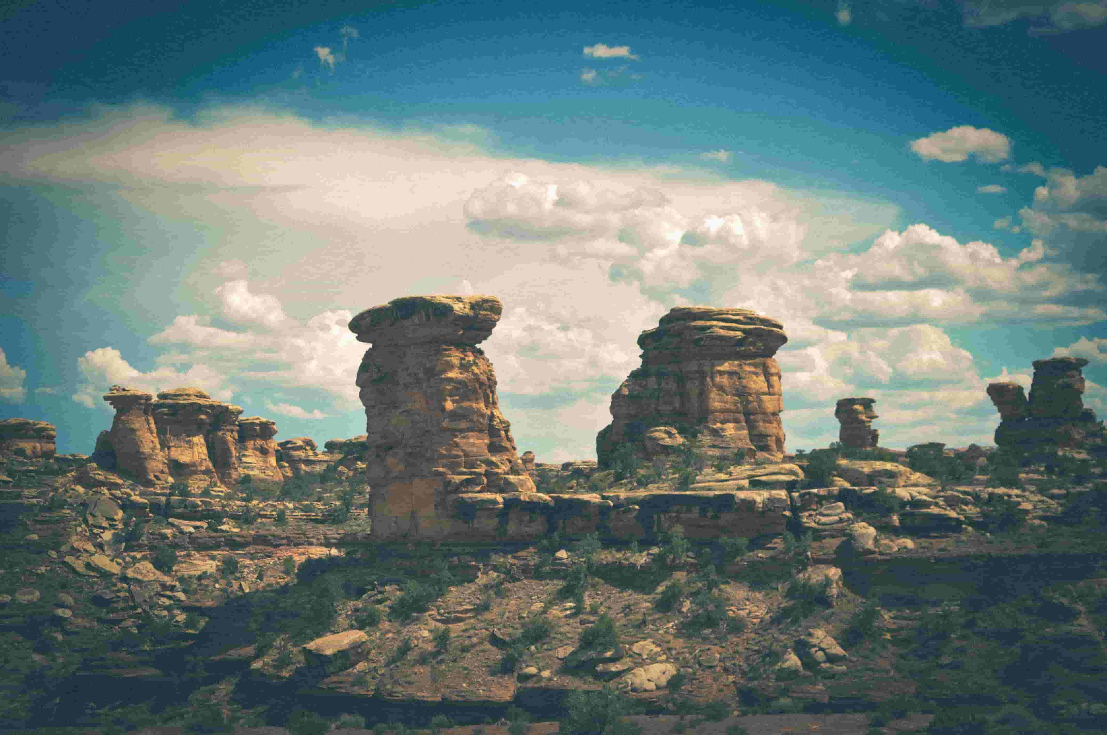 Rock formation in Canyonlands National Park